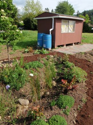 Garden design by Kate Hibschman.