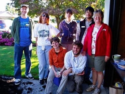 rain garden volunteers