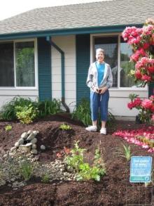 Rain garden grant recipient